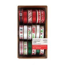 buy ribbon buy the christmas ribbon box by recollections at