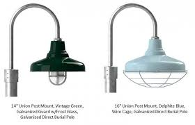 post mount lights add finishing touch to exterior lighting blog