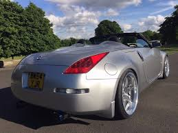new nissan z mint nissan 350z convertible 55k 6 speed manual new import long