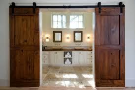Double Barn Door Track System by 36 5 Panel Door French Doors Hung As Sliding Barn Doors My