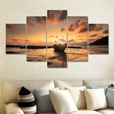 Paintings For Living Room Online Buy Wholesale 5 Panel Canvas Art From China 5 Panel Canvas