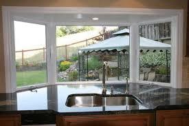 kitchen bay window ideas kitchen bay kitchens marvelous on kitchen with bay window designs