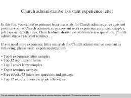 Administrative Assistant Job Description For Resume by Church Administrator Redland Parish Church Click Here For