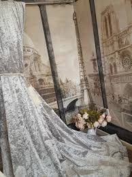 Heavy Grey Curtains Opulent Huge Heavy Ice Grey Crushed Velvet 113