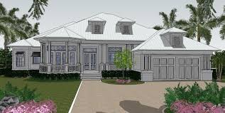 Florida Cottage Plans Hawks Cay House Plan Naples Florida House Plans