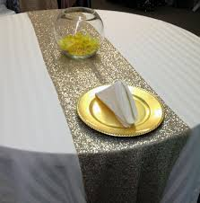 table runner rentals gold glitz table runner now available for rent at www