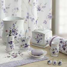 Lavender Bathroom Decor Purple Bathroom Accessories Set Teal