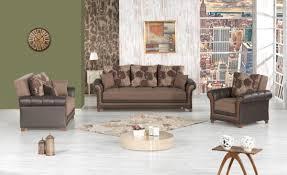 dream decor full sleeper brown livingroom set homwarehouse