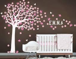 Cherry Blossom Wall Decal For Nursery Jewellry