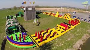 the most awesome inflatable courses you u0027ll want to go asap