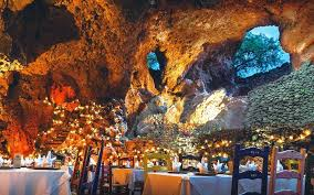 la gruta serves tacos in a colorful mexican cave travel leisure