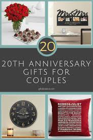 20th anniversary gift ideas for 20th wedding anniversary gift ideas for wedding ideas