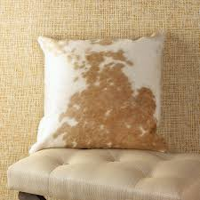 Cowhide Pillows Cowhide Pillow Shades Of Light