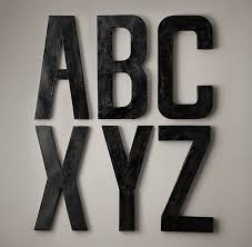 beautiful ideas metal letters wall decor neoteric metal letters