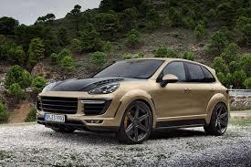for sale porsche cayenne turbo gt 2015 gold topcar