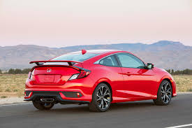 Honda Civic Si Two Door 2017 Honda Civic Si First Drive Review Automobile Magazine