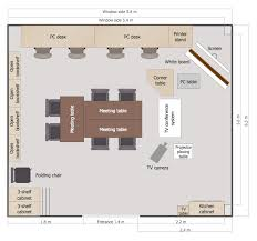 Sample Of Floor Plan For House Conceptdraw Samples Building Plans U2014 And Training Plans