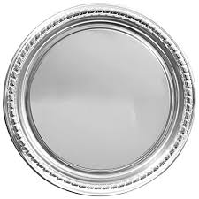 metal platters catering trays at dollartree