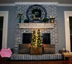 how to paint brick fireplace how to paint a brick fireplace white
