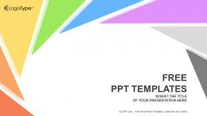 templates powerpoint abstract rotation triangle abstract powerpoint templates