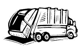 how to draw garbage truck coloring pages how to draw garbage