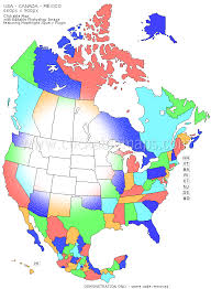 me a map of mexico clickable map of usa canada and mexico
