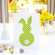 how to make a cute easter bunny card