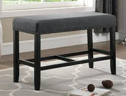 table with bench seat dining bench upholstered medium size of bench seat for dining table