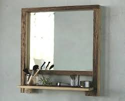 Bathroom Shelf With Mirror Mirrors With Shelves Bathroom Mirror With Shelf Bath Mirror With