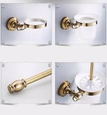 Bathroom Accessories Bronze by Antique Aluminum Toilet Bowl Brush Holders Bathroom Accessories