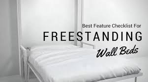 Freestanding Murphy Bed Frame Checklist For Freestanding Wall Beds Expand Furniture