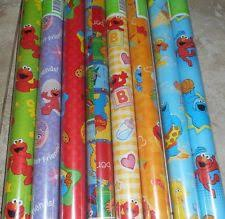 elmo christmas wrapping paper sesame wrapping paper ebay