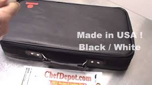 Made In Usa Kitchen Knives Chef Knife Set With Carrying Case Youtube