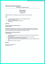 Job Shadowing Resume by Your Data Entry Resume Is The Essential Marketing Key To Get The