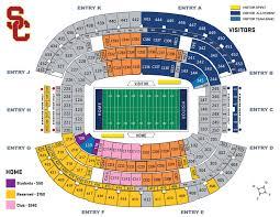 Usc Parking Map 2017 Wearesc Travel Guide U2013 Game 14 The 82nd Goodyear Cotton Bowl