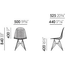 buy vitra wire chair dkr 5 by charles u0026 ray eames 1951 the