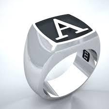 Mens Monogram Rings Nobles Metales Men U0027s Monogram Signet Ring