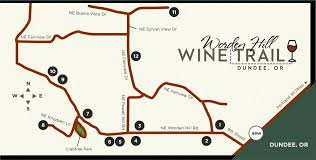 map of oregon wineries welcome to the worden hill wine trail located in dundee oregon