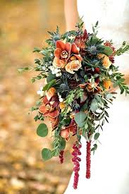 Fall Flowers For Wedding Orange Floral Centerpieces Fall Season With Beautiful Fall Flowers