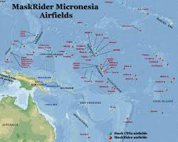 Micronesia Map Maskrider Micronesia Gallery