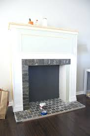 image small fake chimney fireplace logs best electric best small