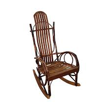 Bent Wood Rocking Chair James Overman Hand Crafted Bent Wood Hickory Adirondack Rocker