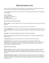 Business Letter Proposal block business letter template word mediafoxstudio com