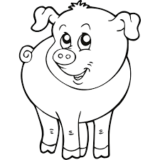 farm animals colouring pages free animal pictures to print