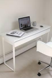 High Gloss White Desk by Ikea Still Les Petits Gazette