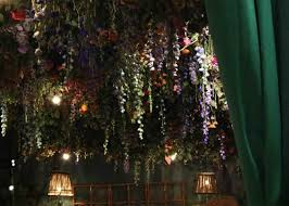 sketch restaurant is filled with flowers to celebrate chelsea