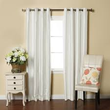 White Silk Curtains Top Faux Silk Curtains Creative Home Decoration Decorate