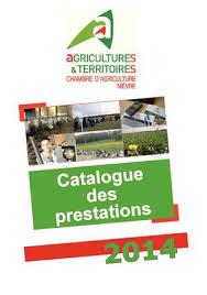 chambre d agriculture de la nievre calaméo offre de services 2014