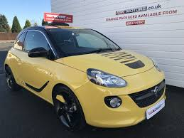 vauxhall yellow vauxhall adam