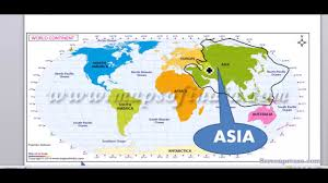 Asia Countries Map by Map 2 Asian Countries And Their Location In World Map Youtube